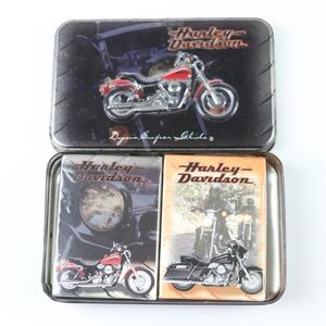 Harley Davidson Playing Cards Deck Collectible Tin